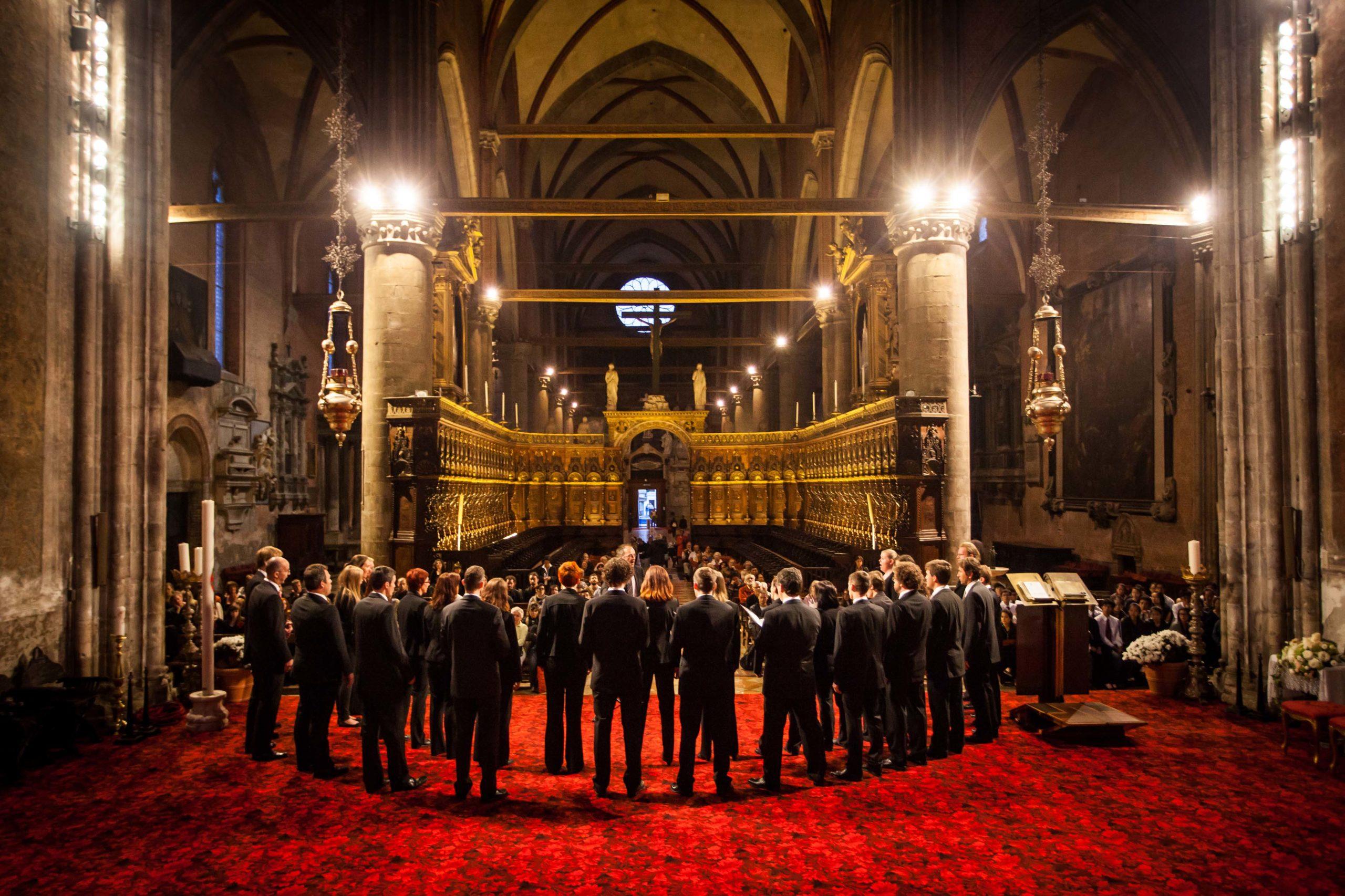 Der Chor Vox Cantabilis in der Pfarrkirche Bischofshofen